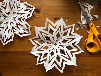 Tutorial: How to Make Paper Snowflakes