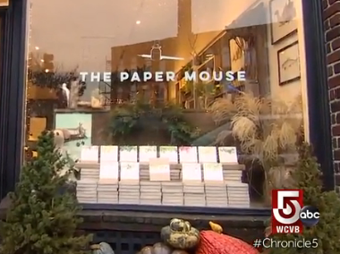 The Paper Mouse on WCVB Chronicle