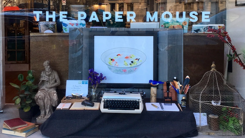 The Paper Mouse Shop - Storefront 2019