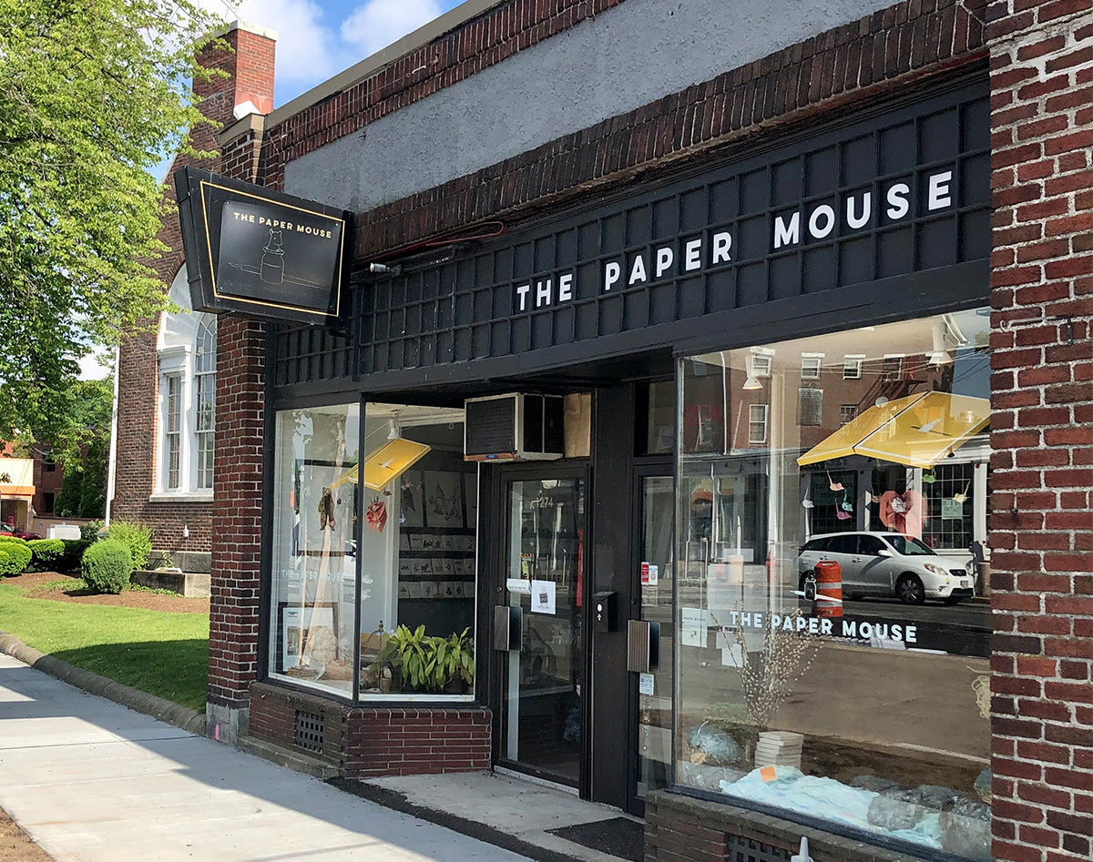 The Paper Mouse re-opening