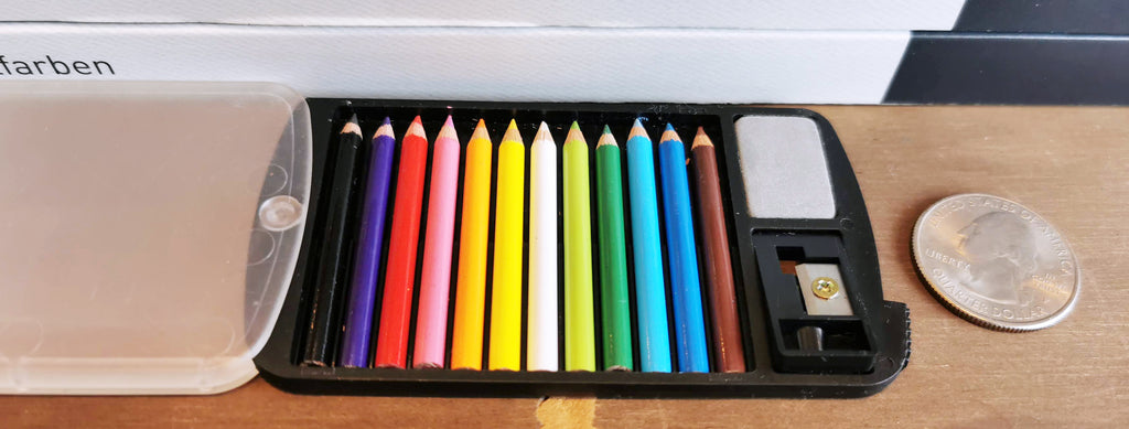 Tiny colored pencils