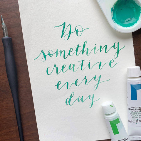 Writing with Custom Calligraphy Inks | Teens and Adults