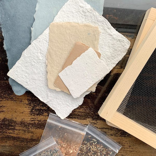 Recycled Paper-Making | Teens and Adults