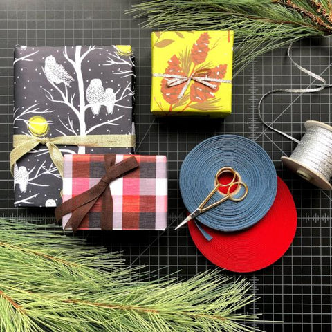 Gift Wrapping at The Paper Mouse