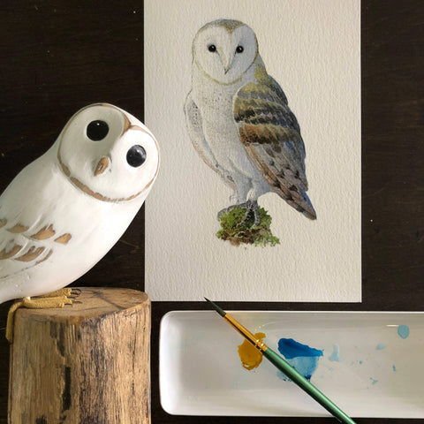 Fun with Watercolor: Owls | All Ages