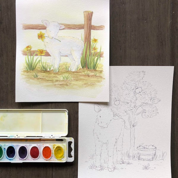 Watercolor Painting: Baby Animals | Teens and Adults
