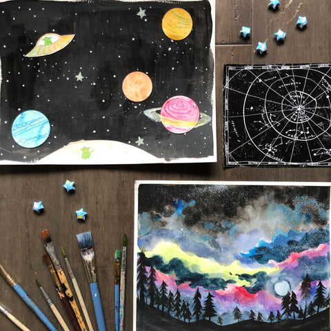 Outer Space | 06/12/20 | Summer Art Program