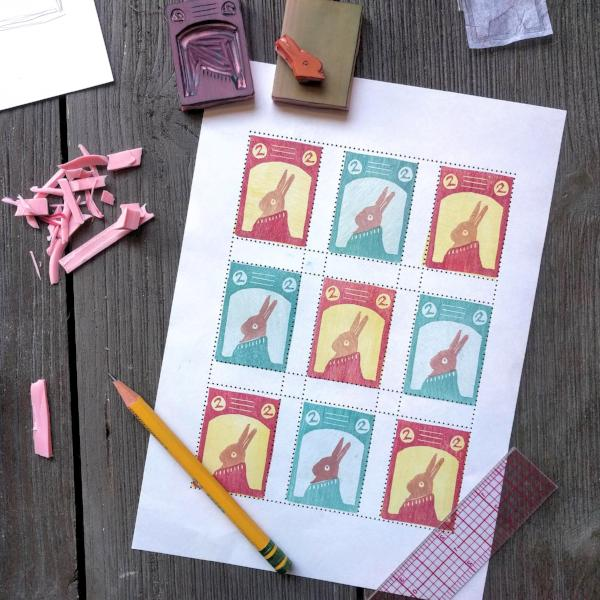 Rubber Stamping Workshop: Artistamps | Adults