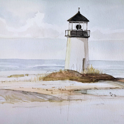 Watercolor Paint Night: Lighthouse | Teens and Adults