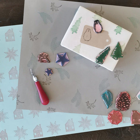 Handmade Holiday: Gift Wrap | Teens and Adults