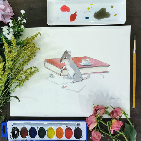 Fun with Watercolor: Mice | All Ages