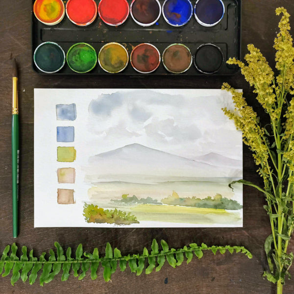 Intro to Watercolor | Teens and Adults