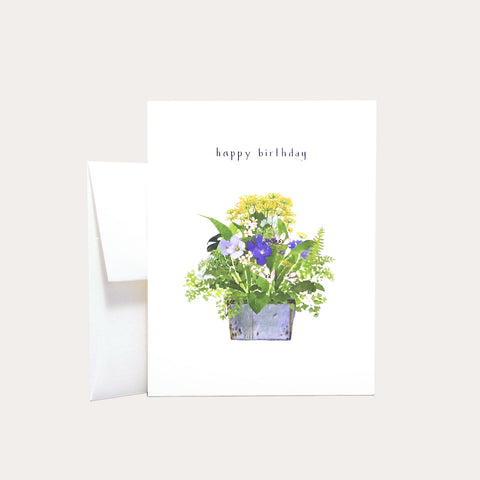 Flowers and Ferns | Occasion Card