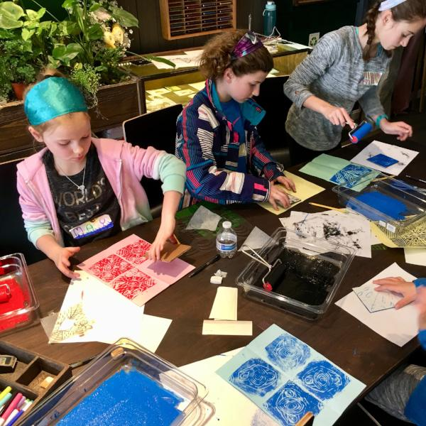 Summer Vacation Camp | 7/23 - 7/27 | Color, Texture and Pattern