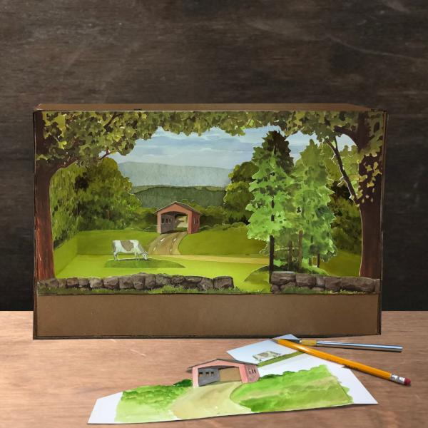 Building Dioramas: Covered Bridge | Adults