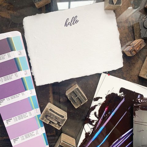 Intro to Letterpress: Custom-Mixed Inks | Teens and Adults