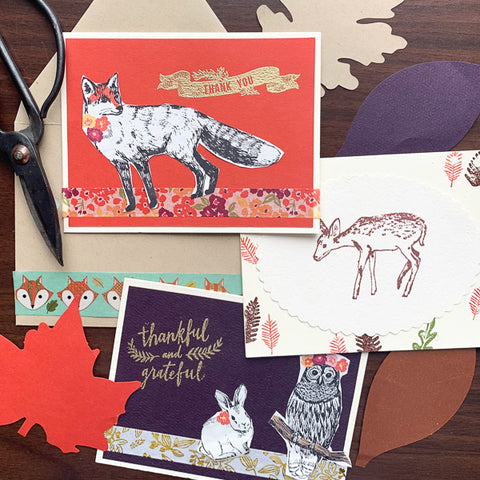 Woodland Card-Making | Teens and Adults