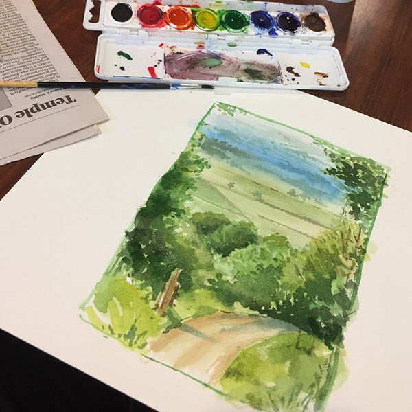 Watercolor | 4-week | Children