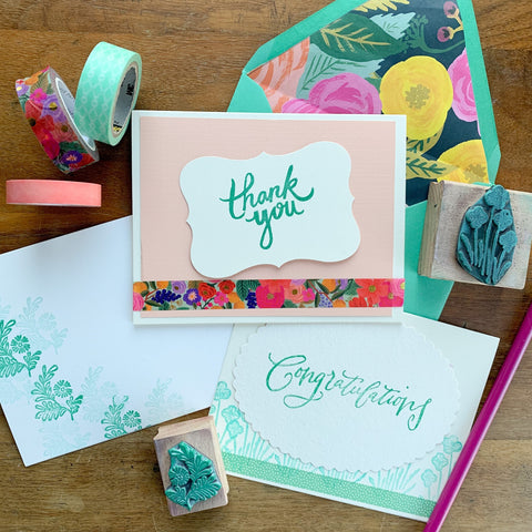 Floral Card-Making | Teens and Adults