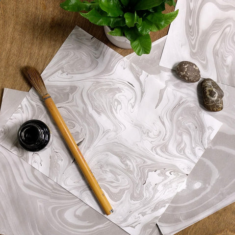 Japanese Paper Marbling | All Ages
