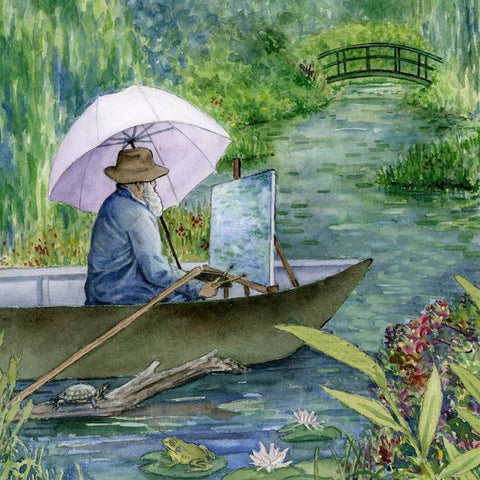 Watercolor Paint Night: Monet | Teens and Adults