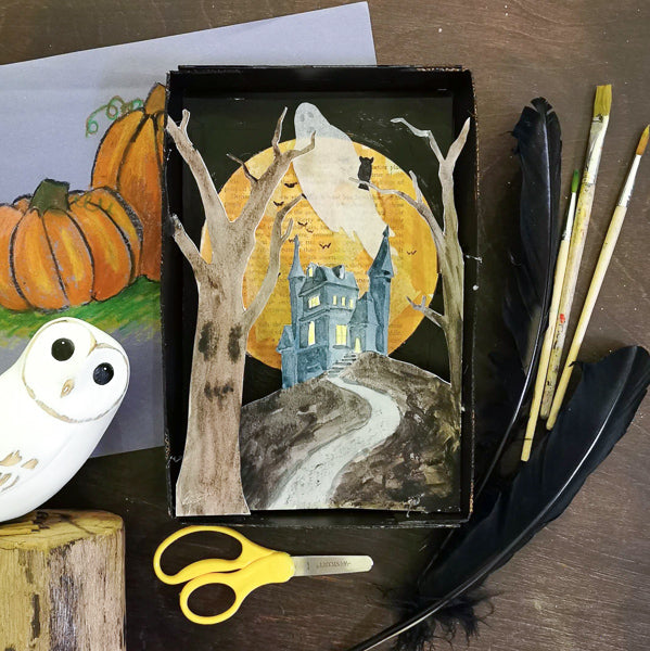 Halloween Shadowbox | All Ages