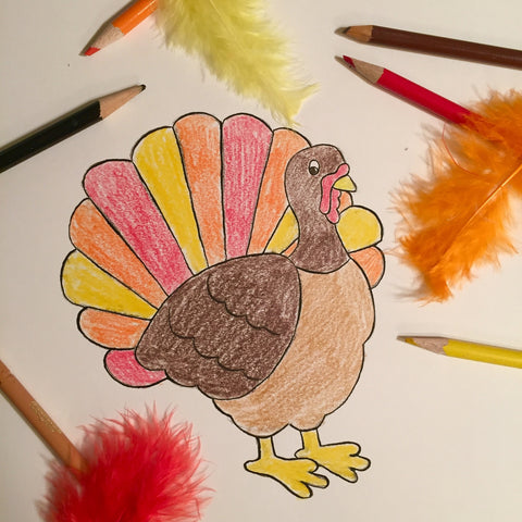Drawing Turkeys | Children