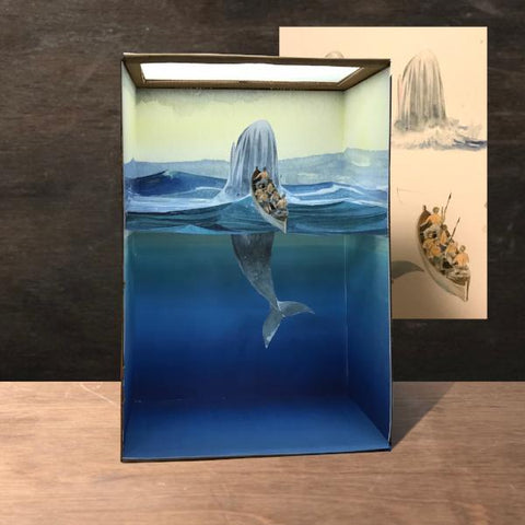 Building Dioramas: Whale | Adults