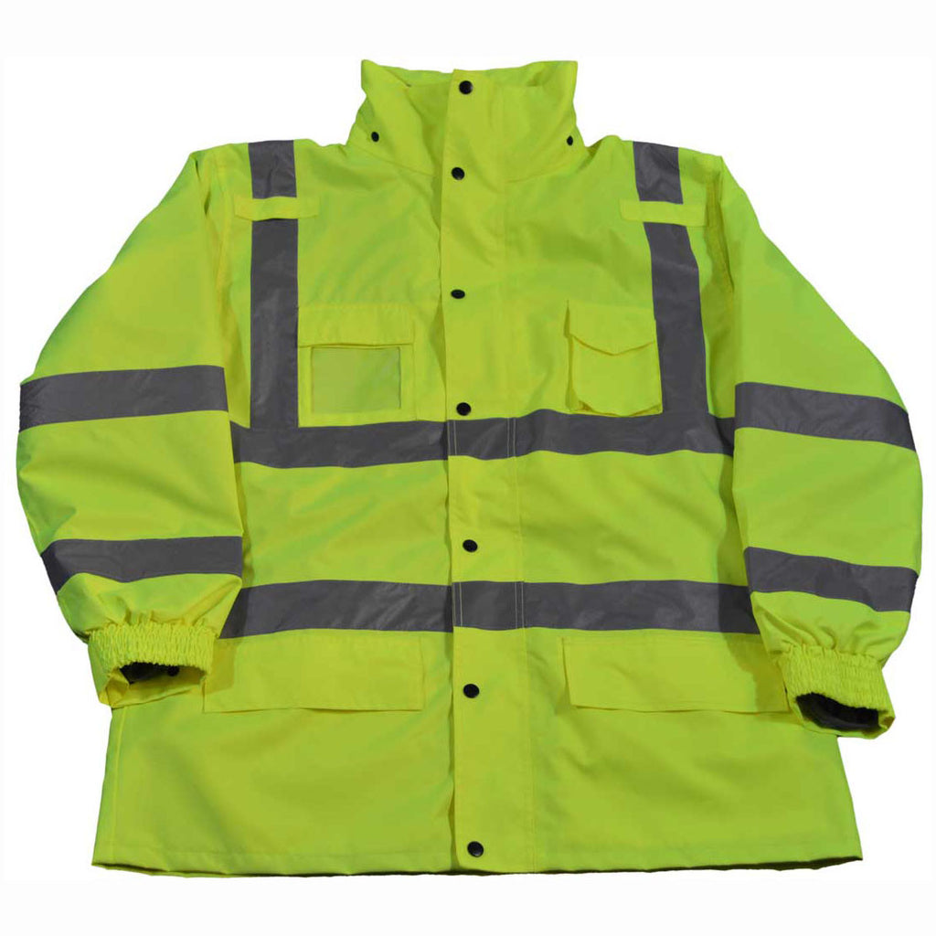 LPJ3IN1-C3 ANSI/ISEA 107-2015 Class III 3-IN-1 Wind Breaker & Rain Parka Jacket