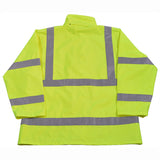 LRJK-C3 ANSI/ISEA Class 3 Lime Waterproof Rain Jacket