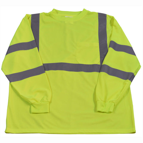 LTSL3 ANSI/ISEA 107-2010 Class 3 High Vis Long Sleeve T-shirt