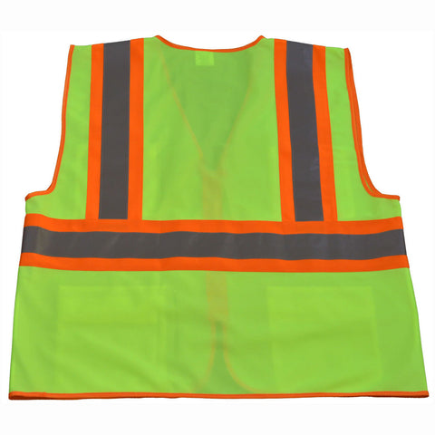 LV2-CB1/ LVM2-CB1 ANSI/ISEA CB1 Two Tone DOT Class II Safety Vest