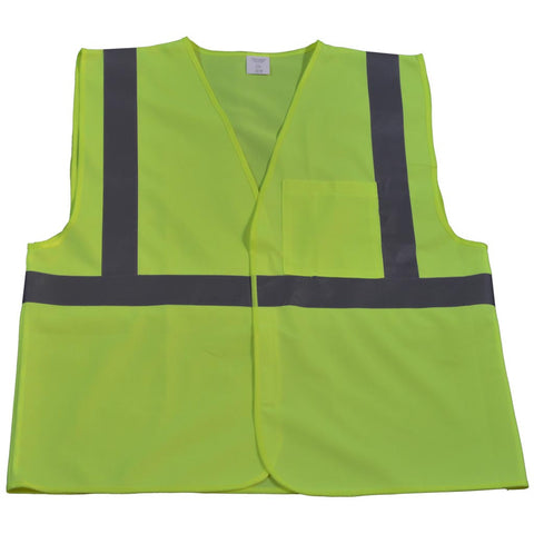 LV2-EC/LVM2-EC ANSI/ISEA 107-2010 CLASS 2 Economy Safety Vests Velcro Closure