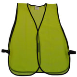 LVM-0/OVM-0 ANSI Non-Rated Mesh Safety Vest - No Reflective Tape