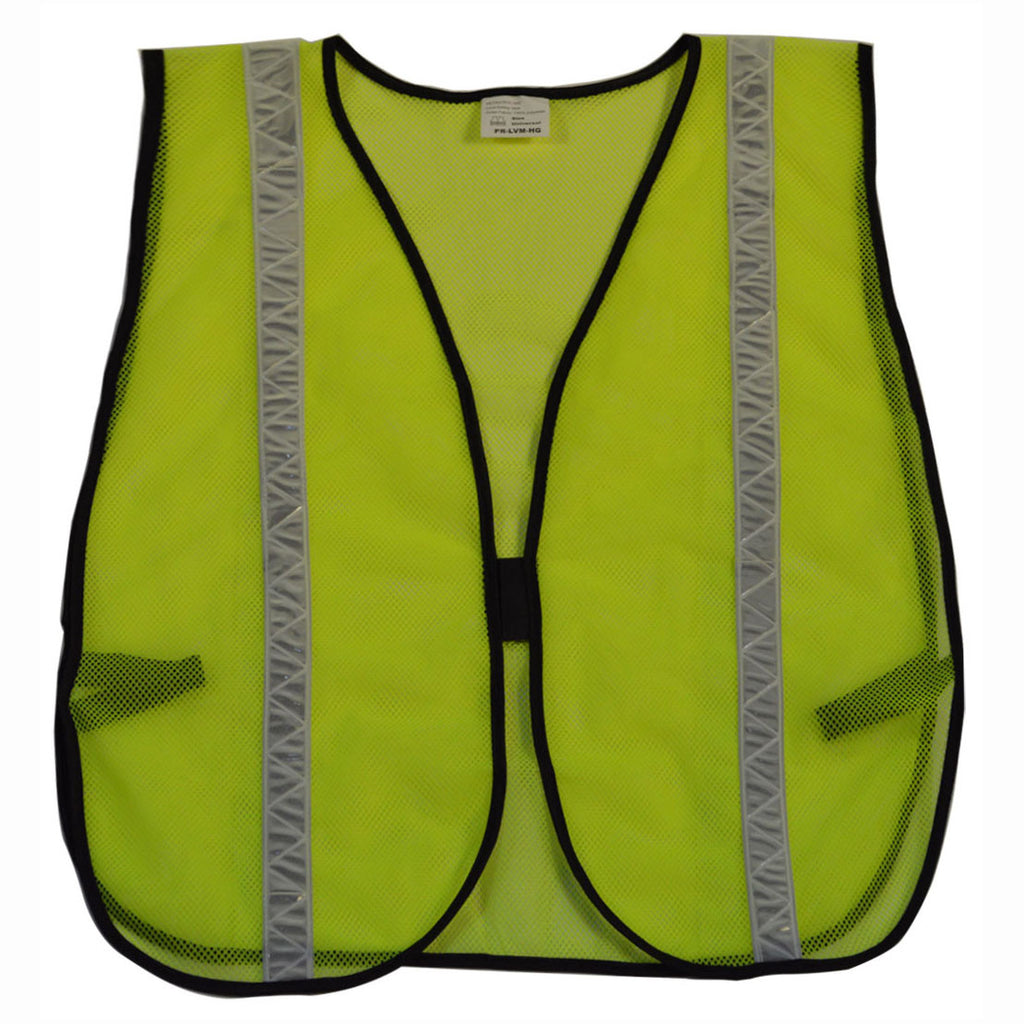 LVM-HG/OVM-HG ANSI Non-Rated Mesh Safety Vest - High Gloss Tape