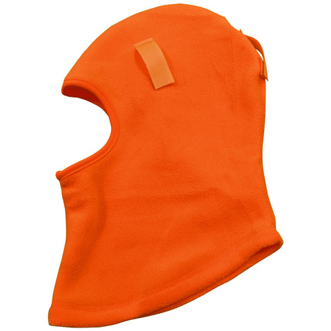 OMSK-S1 Balaclava Fleece Head Wear Ski Mask & Hardhat Liner, Orange, One Size