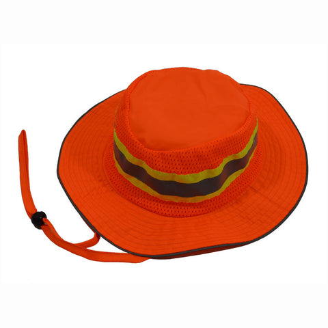 ORH-FB ANSI Orange Full Brimmed Ranger Style Hats