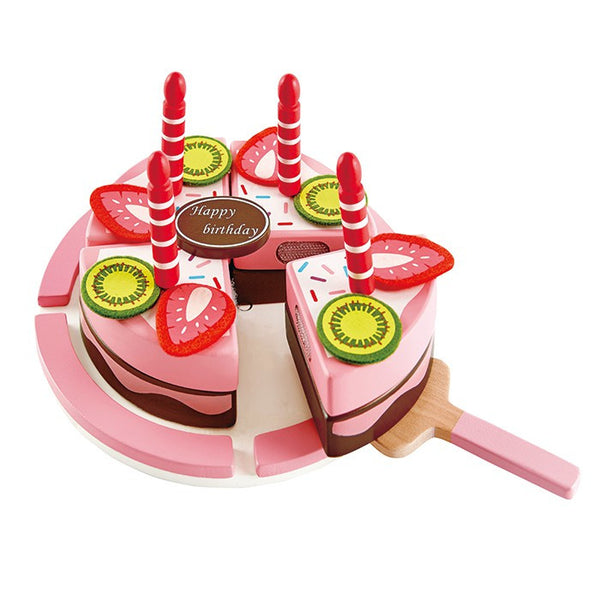 Hape Double Flavored Birthday Cake - goodforkids.com.au