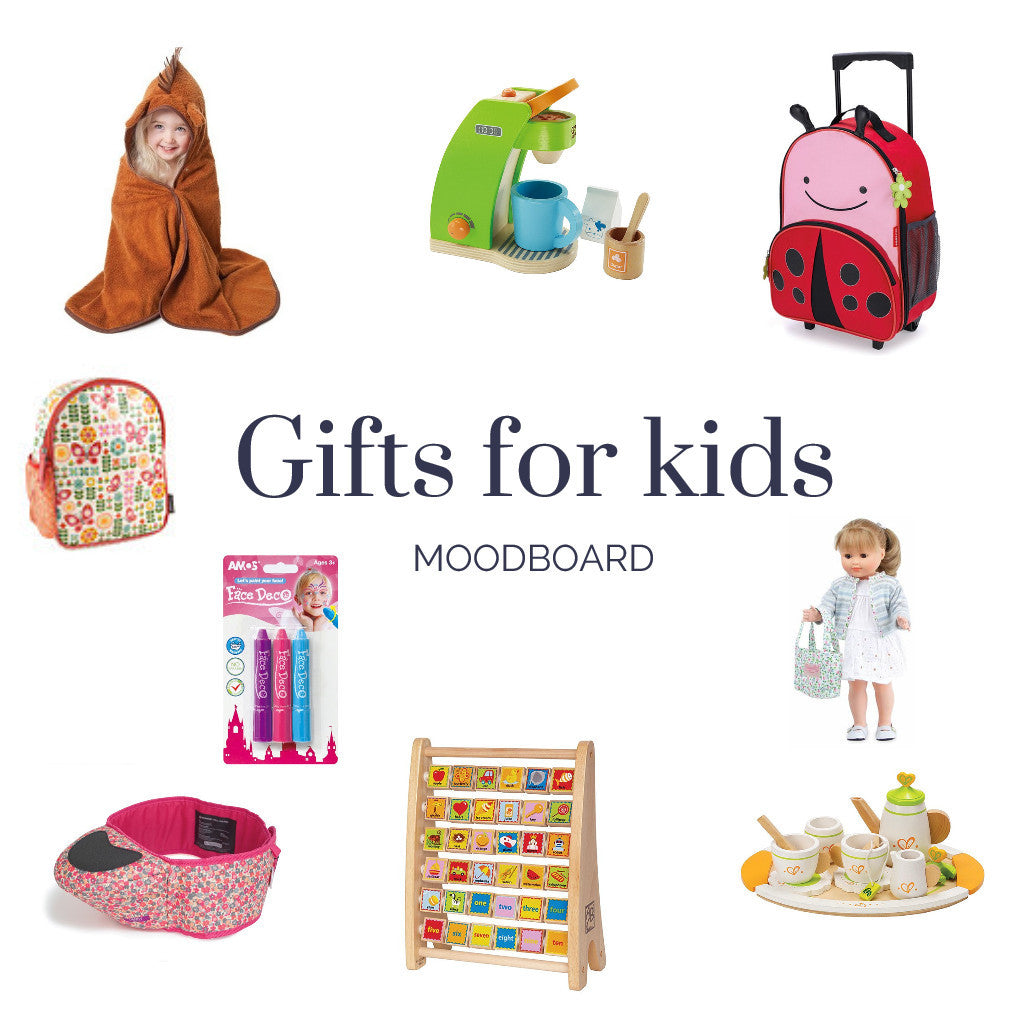 Gift ideas for toddlers, kids and children