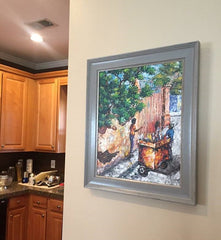 Example of a Framed Artwork