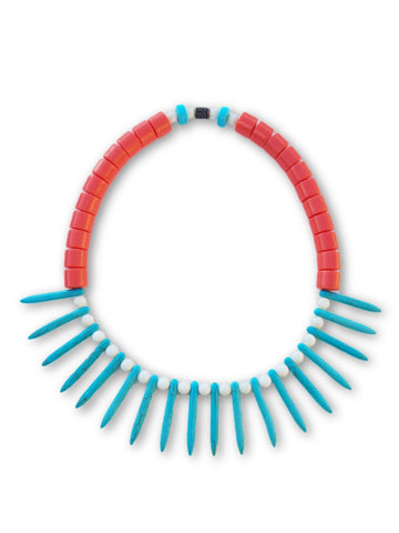 Afro Beads (Turquoise) - Ricky's Wall