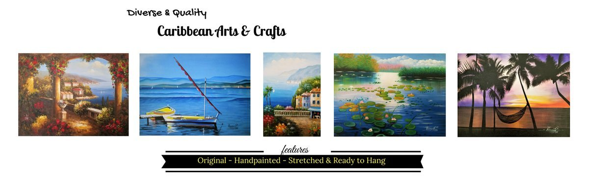 Affordable, Diverse & Quality Caribbean Arts & Crafts