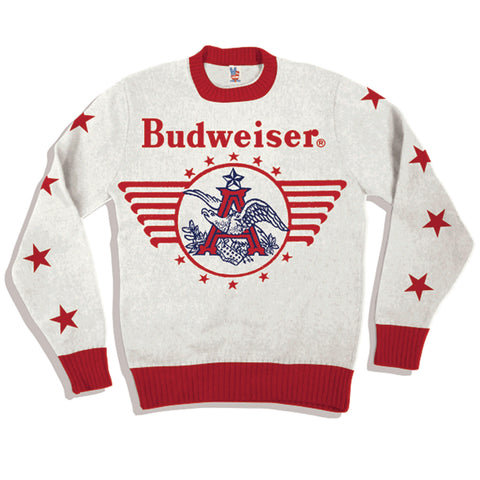 Junk Food X Budweiser 'Vintage Eagle' Sweater