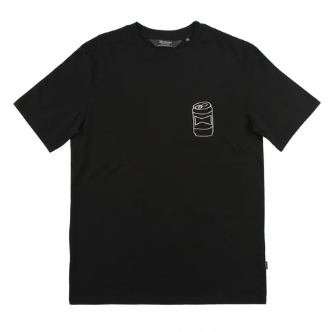 #BeenTrill Embroidered Budweiser Can Tee - Black