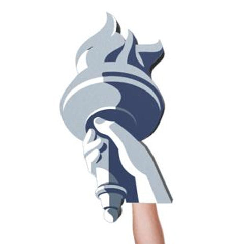 Budweiser Torch Foam Hand