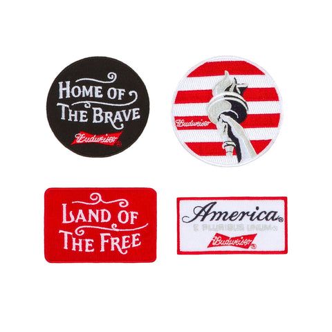 America Themed Pin Pack