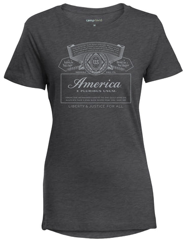 America Label Ladies Tee