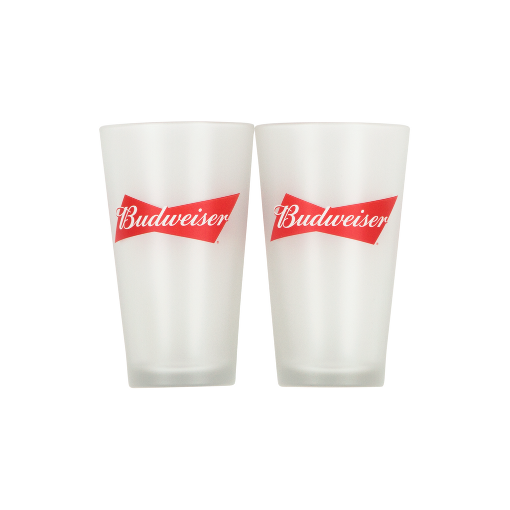 Bud Frosted Glasses