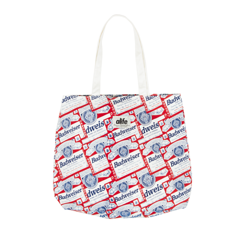 Alife X Budweiser Scatter-print Tote