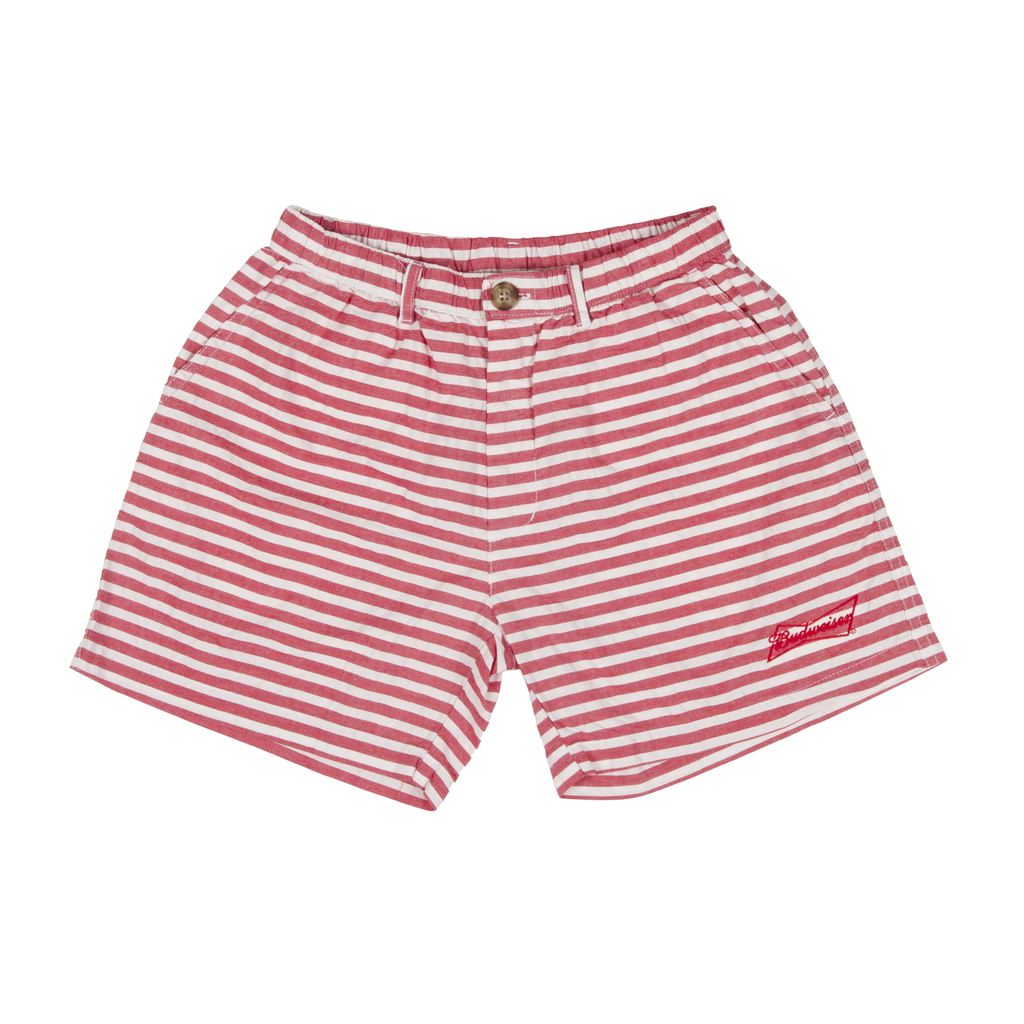 Budweiser chubbies striped shorts 1024x1024